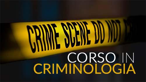 Corso in Criminologia